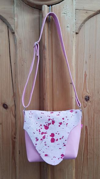 "KUHIE®, Kuhfelltasche Model ""Minnie"" in rosa"