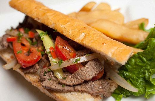 Stir fried loin beef - Lomo Saltado LS001