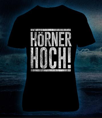 """T-Shirt """"Hörner Hoch"""" GIRLIE"""