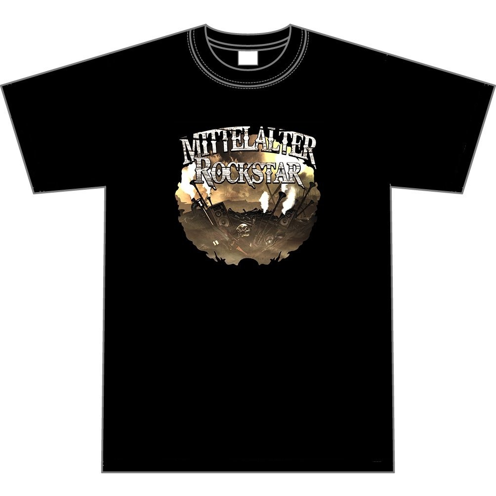 """T-Shirt """"Mittelalter Rockstar"""""""