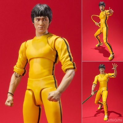 S,H.Figuarts Bruce Lee Yello track suit