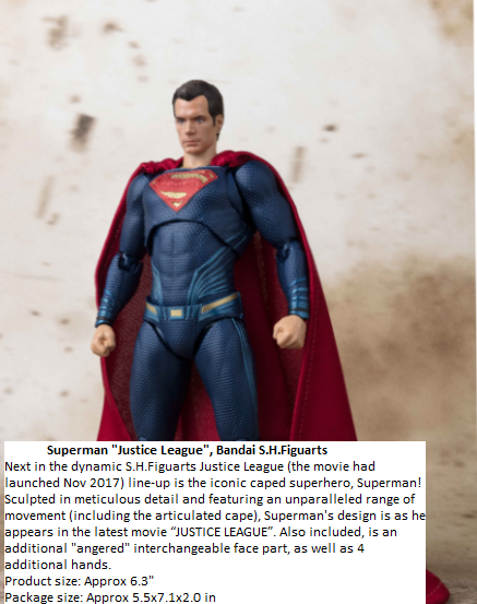 S.H.FIGUARTS SUPERMAN