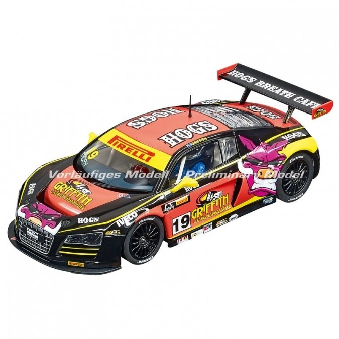 "PRE-ORDER Carrera 23861 Audi R8 LMS ""M. Griffith, No. 19"", Digital 1/24 w/Lights.....NEW FOR 2018 SHIPPING DATES TO FOLLOW"