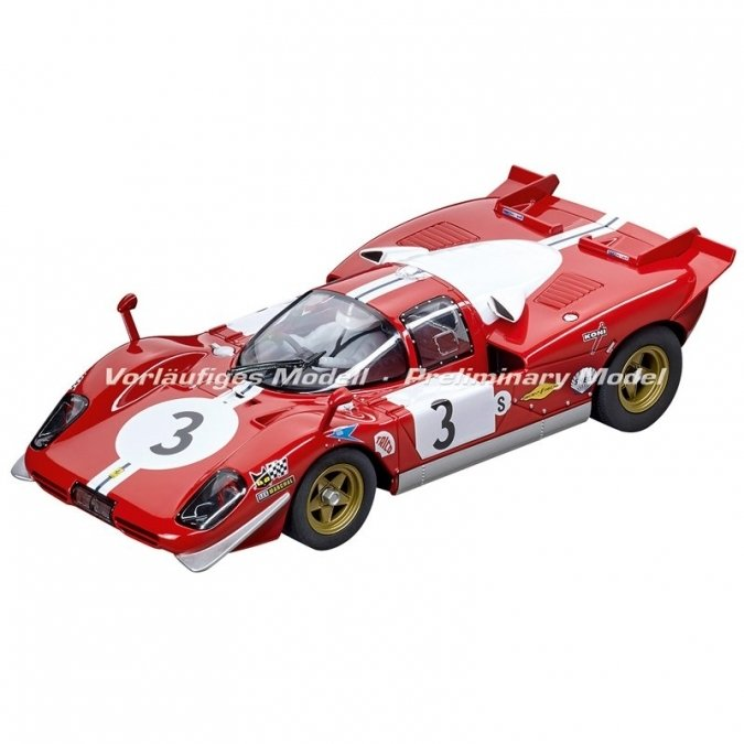 "Carrera 23856  Ferrari 512S Scuderia Filipinetti ""No.3"", 1970, Digital 1/24 w/Lights."