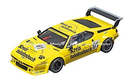 "Carrera 23855 BMW M1 Procar Kreistelefonbuch, ""No.81"", 1979, Digital 1/24 w/Lights"
