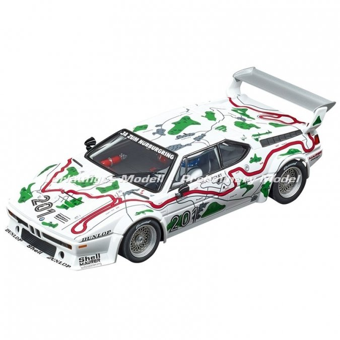 "PRE-ORDER Carrera 23854 BMW M1 Procar ""No.201"", Nürburgring 1000km 1980, Digital 1/24 w/Lights....NEW FOR 2018 SHIPPING DATES TO FOLLOW"