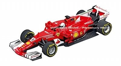 "Carrera 30842 Ferrari SF70H ""S.Vettel, No.5"", Digital 132 w/Lights....NEW FOR 2018 SHIPPING DATES TO FOLLOW"