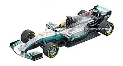 "Carrera 30840 Mercedes-Benz F1 W08 ""L.Hamilton, No.44"", Digital 132 w/Lights....NEW FOR 2018 SHIPPING DATES TO FOLLOW"