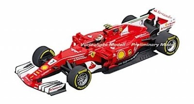 "Carrera 30843 Ferrari SF70H ""K.Räikkönen, No.7"", Digital 132 w/Lights....NEW FOR 2018 SHIPPING DATES TO FOLLOW"