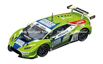 "Carrera 30864 Lamborghini Huracán GT3 ""Imperiale Racing Team, No. 63"" , Digital 132 w/Lights....NEW 2018 SHIPPING DATES TO FOLLOW"