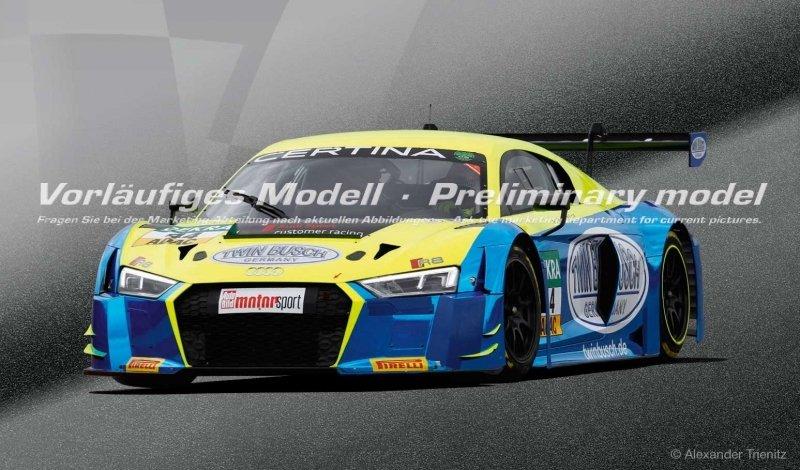 "Carrera 30851 Audi R8 LMS ""Twin Busch, No.44"", Digital 132 w/Lights....NEW 2018 SHIPPING DATES TO FOLLOW"