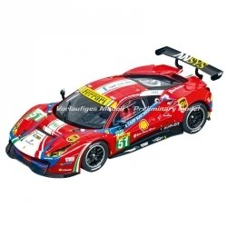 "Carrera 30848 Ferrari 488 GT3 ""AF Corse, No.51"", Digital 132 w/Lights....NEW 2018 SHIPPING DATES TO FOLLOW"