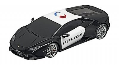 Carrera 30854 Lamborghini Huracán Police Car, Digital 132 w/Lights....NEW 2018 SHIPPING DATES TO FOLLOW