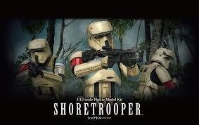 BANDAI SHORE TROOPER 1/12 PLASTIC MODEL KIT