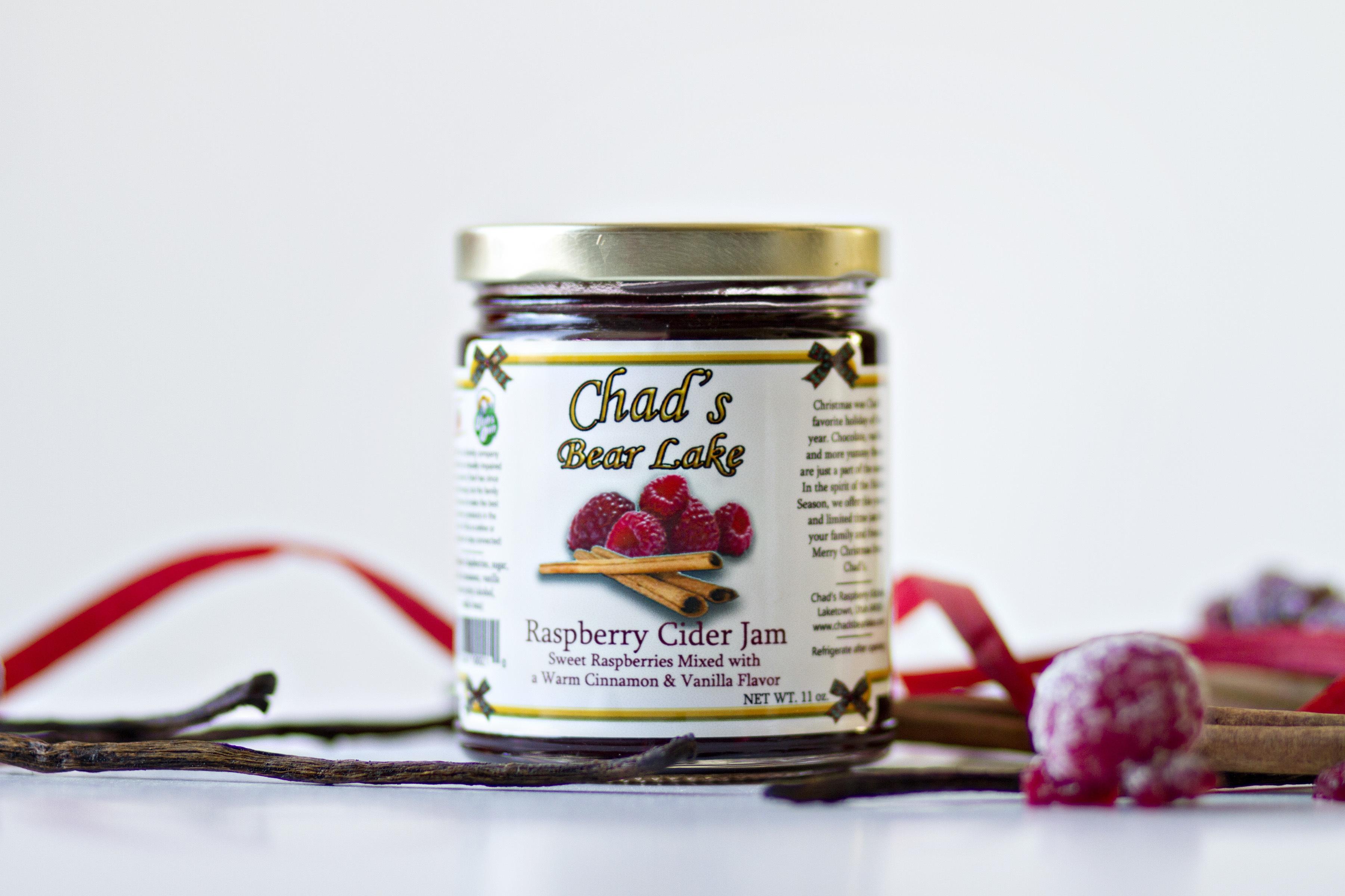Raspberry Truffle Jam, 6 oz.