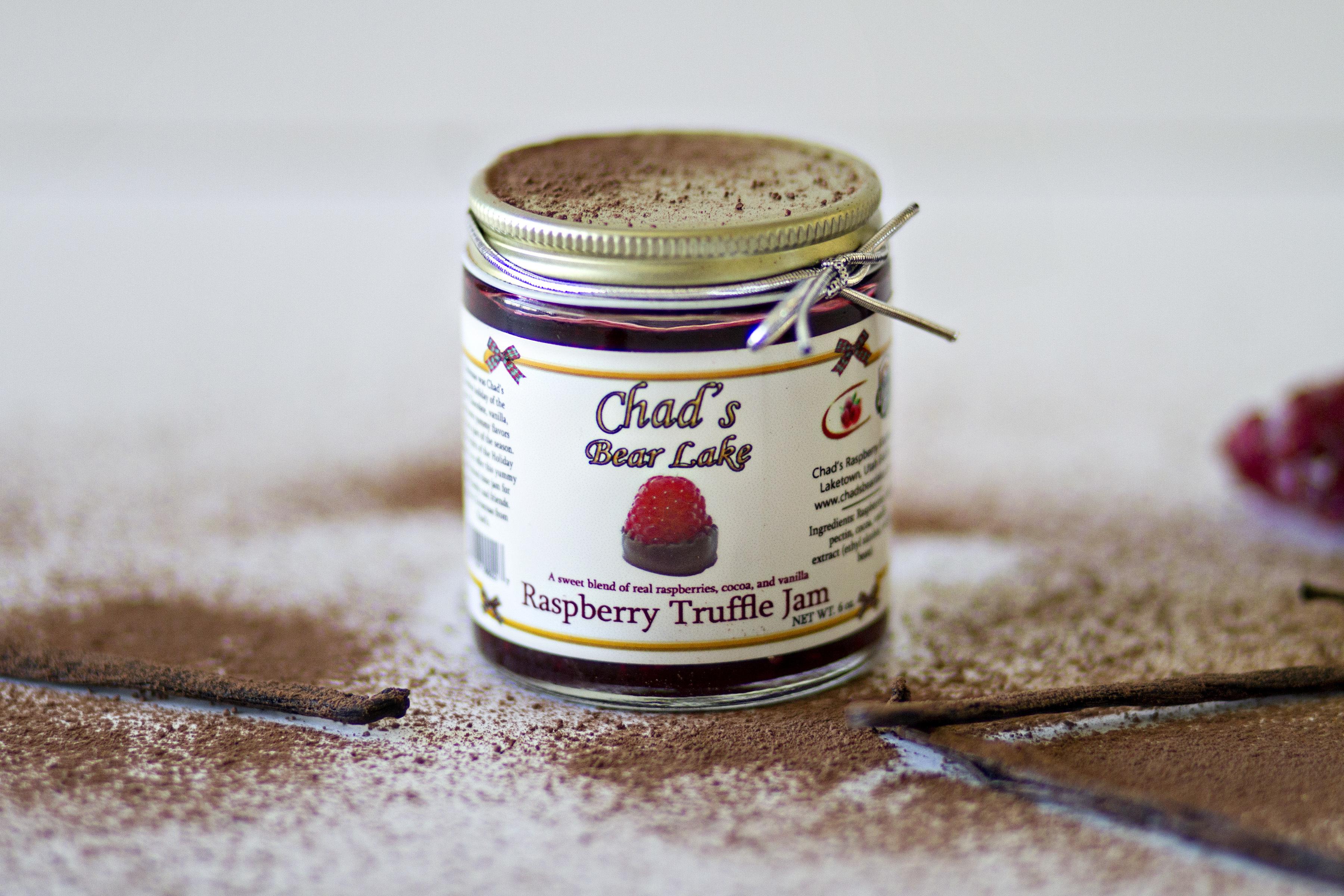 Raspberry Truffle Jam, 6 oz. 891368000227