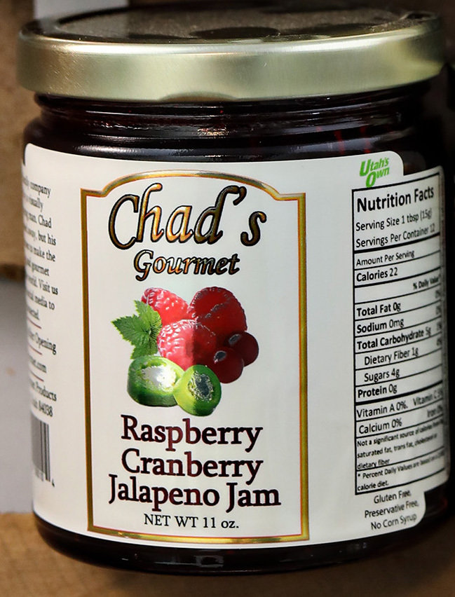 Raspberry Cranberry Jalapeno Jam -11 oz 891368000104