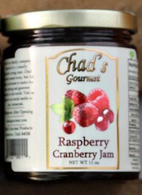 Raspberry Cranberry Jam -11 oz
