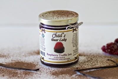 Raspberry Truffle Jam, 11  oz.