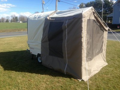 Add-a-Room Awning Sidewalls for Mini Mate Camper