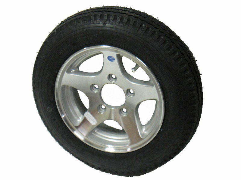 "4.80 X 12"" Alloy Tire & Wheel"