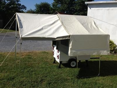 Awning Package for MM Camper