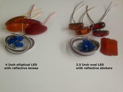 Side marker light recall kits