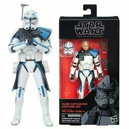 Figurine Hasbro STAR WARS The Force awakens CAPITAINE REX Figure CAPTAIN