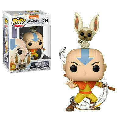 Pop ! Animation 534 - Avatar The Last Airbender - Aang with Momo