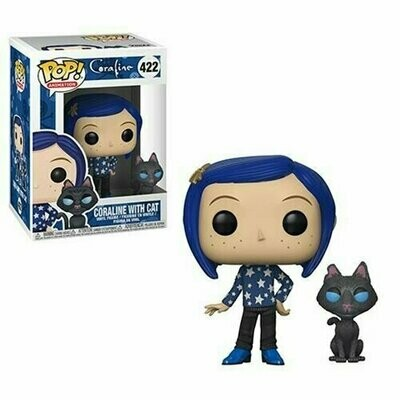 Pop ! Animation 422 - Coraline - Coraline with Cat