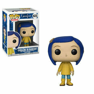 Pop ! Animation 423 - Coraline - Coraline in Raincoat