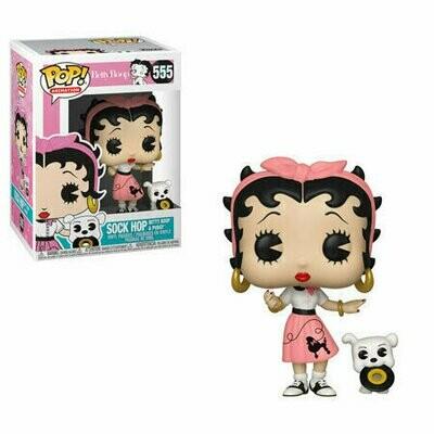 Pop ! Animation 555 - Betty Boop - Sock Hop Betty Boop & Buddy