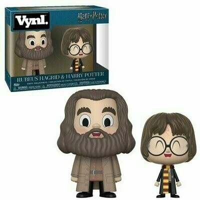 Funko VYNL - Harry Potter - Rubeus Hagrid & Harry Potter