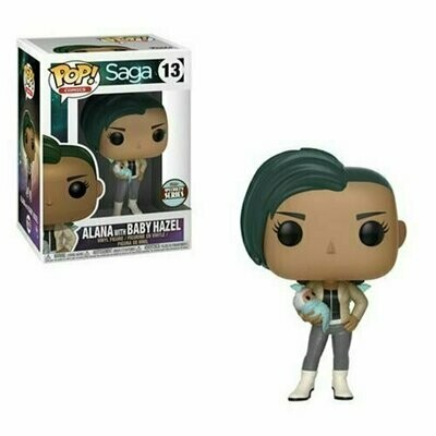 Pop ! Comics 13 - Saga - Alana with Baby Hazel (Specialty Series)