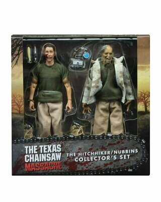 "NECA - Texas Chainsaw Massacre – 8"" Clothed Action Figures – Nubbins Sawyer Collector's Set"