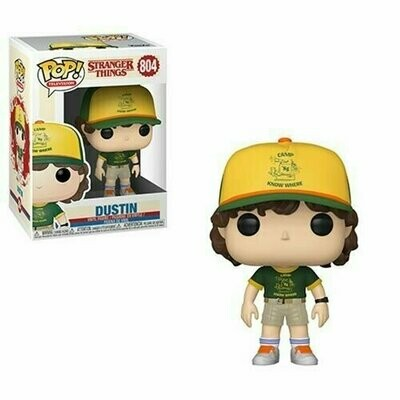 PREORDER 2019-10 Pop ! Television 804 - Stranger Things - Dustin