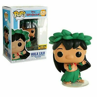 Pop ! Disney 521 - Lilo & Stitch - Hula Lilo (Hot Topic Exclusive)