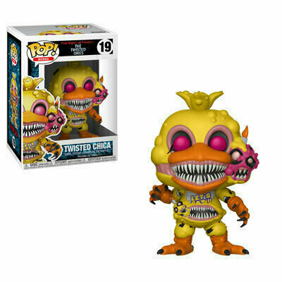 Pop ! Books 19 - Five Nights at Freddy's The Twisted Ones - Twisted Chica