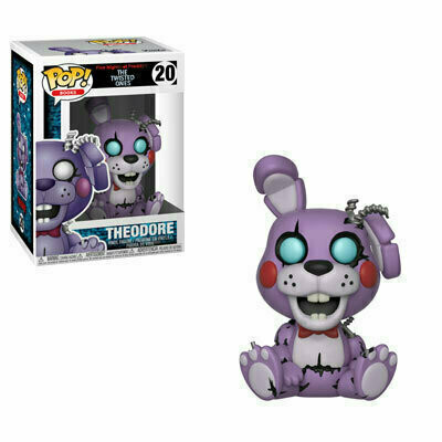 Pop ! Books 20 - Five Nights at Freddy's The Twisted Ones - Theodore