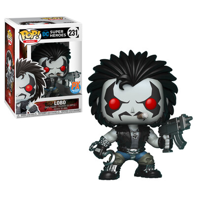 Pop ! Heroes 231 - Lobo (Px Previews Exclusive)