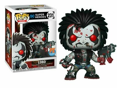 Pop ! Heroes 231 - Lobo (Bloody) (Px Previews Exclusive)
