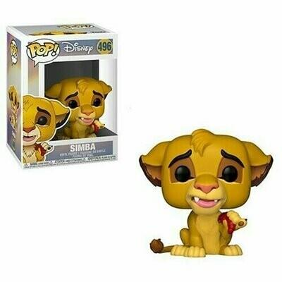 PREORDER 2019-10 Pop ! Disney 496 - The Lion King - Simba