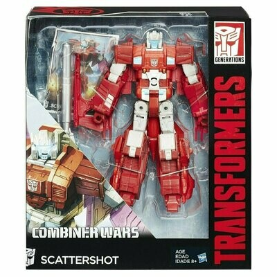 Transformers - Generations Combiner Wars - Scattershot