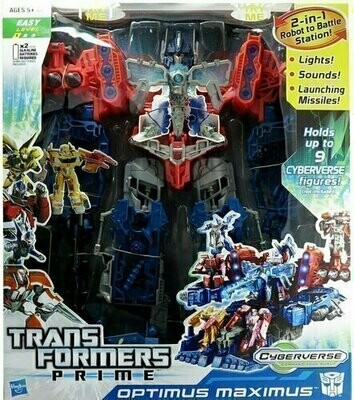 Transformers Prime - Cyberverse - Optimus Maximus (2 in 1 Robot to Battle Station)