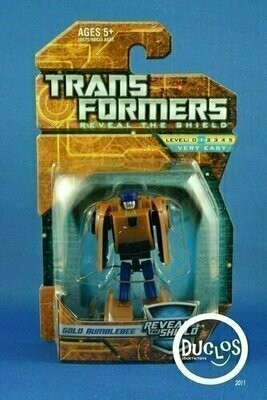 Transformers - Reveal The Shield - Gold Bumblebee