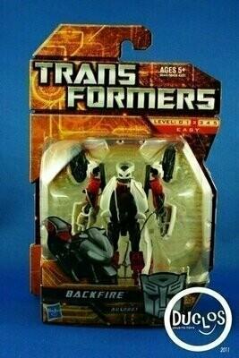 Transformers - Scout Class - Backfire