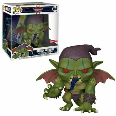 Pop ! Marvel 408 - Spider-Man Into The Spider-Verse - Green Goblin (10'' Exclusive)