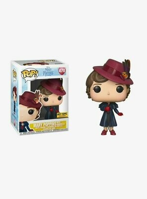 Pop ! Disney 470 - Mary Poppins Returns - Mary with Umbrella (Hot Topic Exclusive)