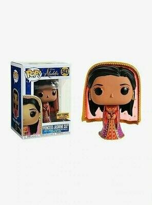 Pop ! Disney 543 - Aladdin - Princess Jasmine (Desert Moon) (Hot Topic Exclusive)