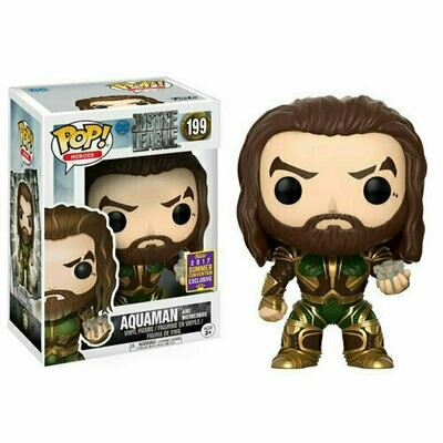 Pop ! Heroes 199 - Justice League - Aquaman and Motherbox (2017 Summer Convention Exclusive)
